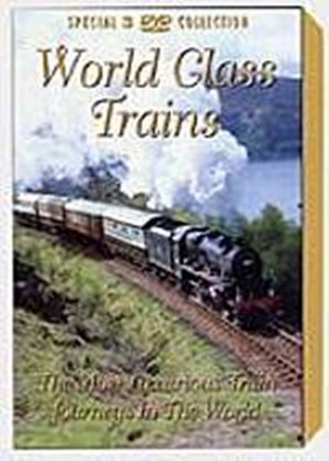 World Class Trains - The Most Luxurious Train Journeys In The World (Box Set) (Three Discs)