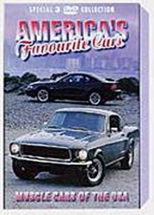 Americas Favourite Cars - Muscle Cars Of The USA (Box Set) (Three Discs)