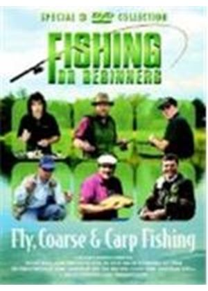 Fishing For Beginners - Fly, Course And Carp(3 Disc)