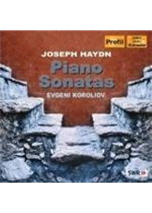 Haydn: (4) Piano Sonatas; Variations in F minor