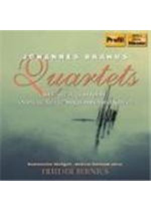 Brahsm: Quartets for Voice and Piano
