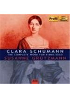 Schumann, C: Complete Works for Solo Piano