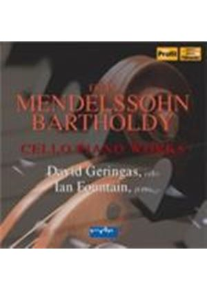 Mendelssohn: Cello and Piano Works (Music CD)