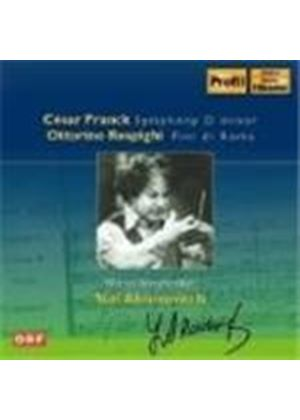 Franck/Respighi - Symphony D Minor/Pini Di Roma (Ahronovitch) (Music CD)
