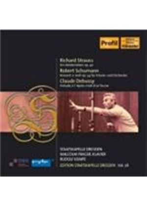 Schumann; Strauss: Staatskapelle Dresden Vol. 28 (Music CD)