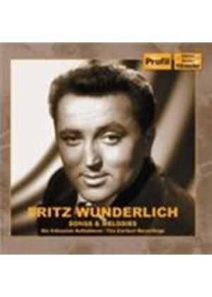 Fritz Wunderlich - Songs & Melodies 1953-1956 (Music CD)