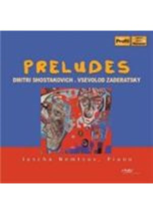 Shostakovich: 24 Preludes for Piano (Music CD)