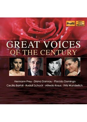 Great Voices Of The Century (Music CD)