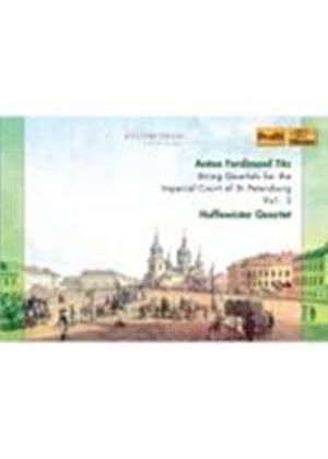 Titz: String Quartets, Vol 3 (Music CD)