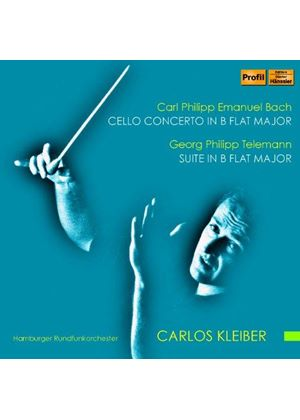 Carl Philipp Emanuel Bach: Cello Concerto in B flat major; Georg Philipp Telemann: Suite in B flat m (Music CD)