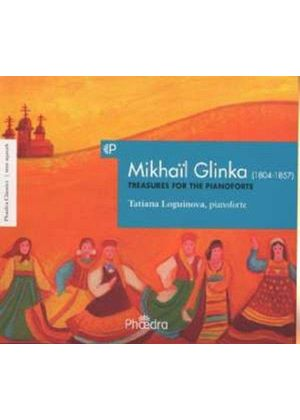 Glinka: Treasures for the Pianoforte (Music CD)