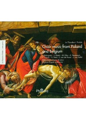 Choir Music From Poland & Belgium (Music CD)