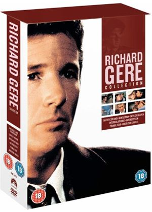 Richard Gere Collection (1996)An Officer and a Gentleman/Days of Heaven/Internal Affairs/Intersection/Primal Fear/American Gigolo