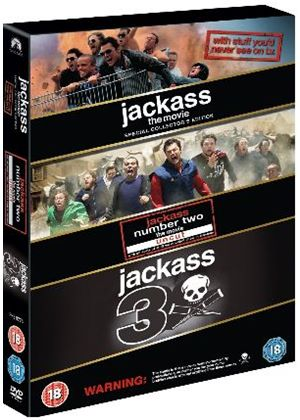 Jackass - 1-3 Movie Collection