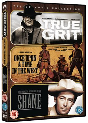 Westerns Collection - True Grit 1969 / Once Upon A Time In The West / Shane