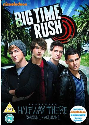 Big Time Rush: Season 1 Volume 1 - Halfway There