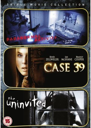 Paranormal Activity 2 / Case 39 / Uninvited (Triple Pack)