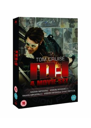 Mission Impossible: Quadrilogy (1-4 Box Set)