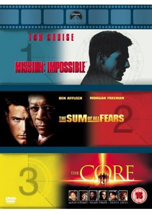 Mission: Impossible / The Sum Of All Fears / The Core (Action Box Set)