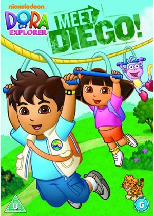 Dora The Explorer - Meet Diego (Animated)
