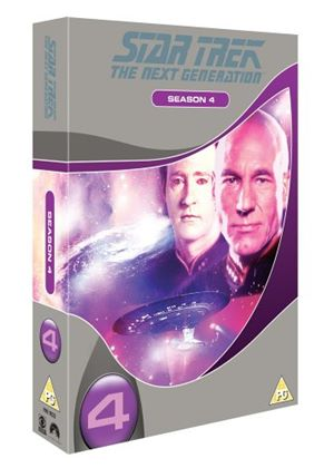 Star Trek The Next Generation - Season 4 (Slim Box Set)