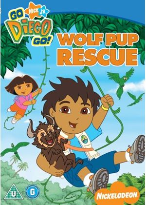 Go Diego Go - Wolf Pup Rescue