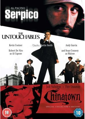 Serpico / The Untouchables / Chinatown