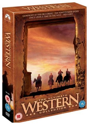 The Western Collection - Gunfight at the OK Corral / Once Upon A Time in the West / True Grit / The Sons of Katie Elder)