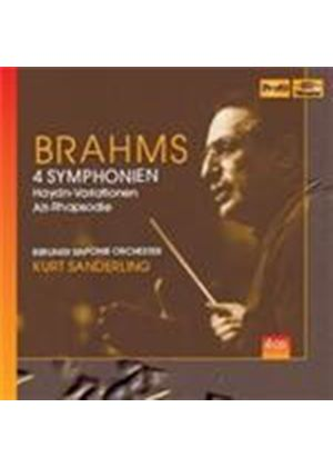 Brahms: Symphonies Nos 1-4 (Music CD)