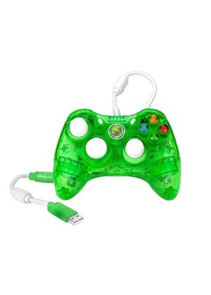 Rock Candy Controller - Green (Microsoft Licensed) (Xbox 360)