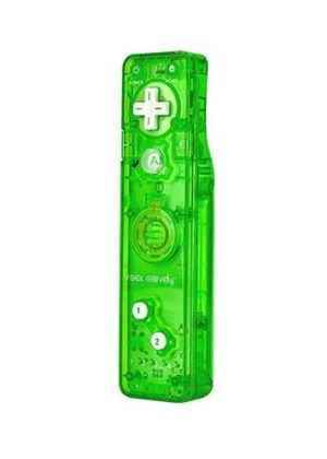 Rock Candy Remote Gesture Controller - Green (Nintendo Wii)