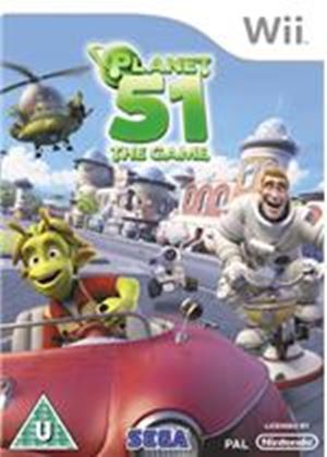 Planet 51 - The Game (Wii)