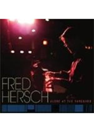 Fred Hersch - Alone At The Vanguard (Music CD)