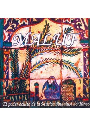 Mahmud Guettat - Maluf (Hidden Power of Andalusi Music From Tunisia) (Music CD)