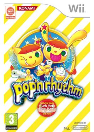 Pop N Rhythm (Pop and Rhythm) (Wii)