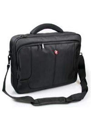 Port Designs London Clamshell Bag (Black) for 15.6 inch Laptop