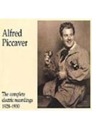 Alfred Piccaver: The Complete Electric Recordings 1928-1930