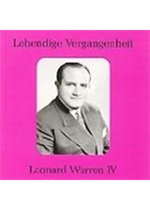 Leonard Warren, Vol 4