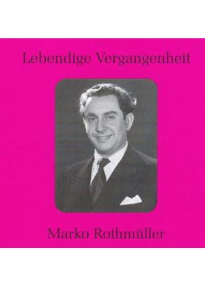 Various Composers - Marko Rothmuller - Sings Arias (Music CD)