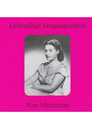 Various Composers - Nan Merriman - Sings Arias (Music CD)