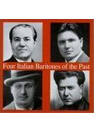 VARIOUS COMPOSERS - 4 Italian Baritones Of The Past