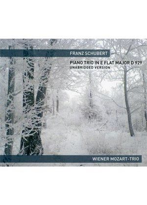 Franz Schubert: Piano Trio in E flat major, D 929, Unabridged Version (Music CD)