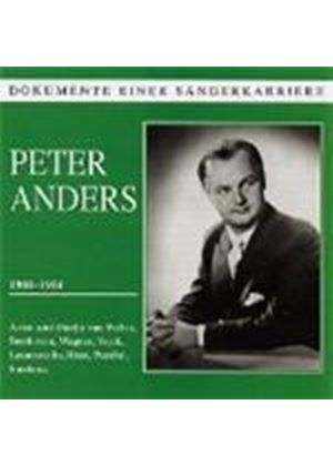 VARIOUS COMPOSERS - Peter Anders 1908-1954 (Orchestra Of The Berlin State Opera)