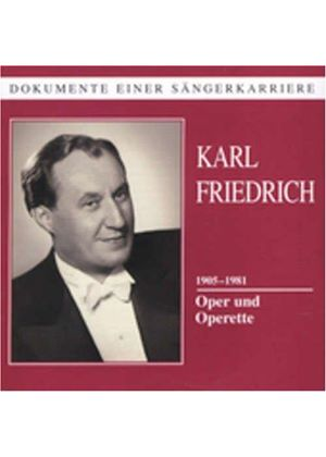 Karl Friedrich sings Operatic Arias