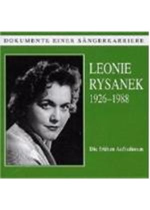Leonie Rysanek - The Early Recordings