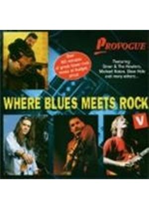 Various Artists - Where Blues Meet Rock Vol.5