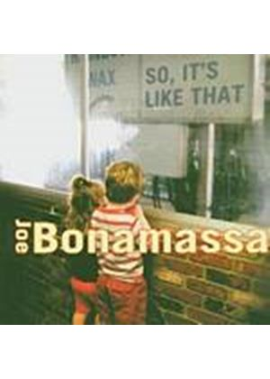 Joe Bonamassa - So Its Like That (Music CD)