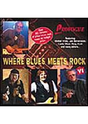 Various Artists - Where Blues Meets Rock 6 (Music CD)