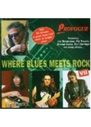 Various Artists - Where Blues Meets Rock Vol.7