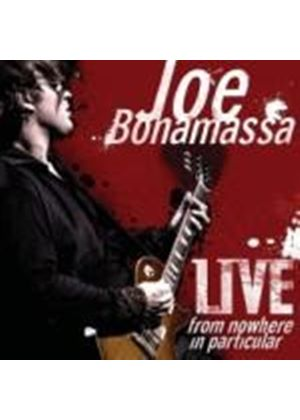Joe Bonamassa - Live from Nowhere in Particular (2 CD) (Music CD)